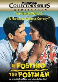 The late Massimo Troisi with Il Postino co-star Maria Grazia Cucinotta who plays Beatrice.