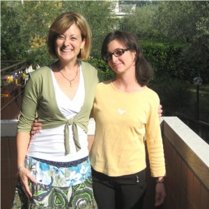 Visiting Rossella in her home in Garda, we met through a chat group and became best friends.
