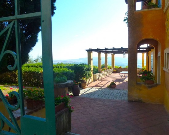 Our group will share two private secluded villas on the Montestigliano Estate near Siena.