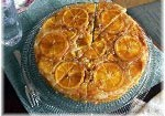 Upside Down Almond Orange Cake