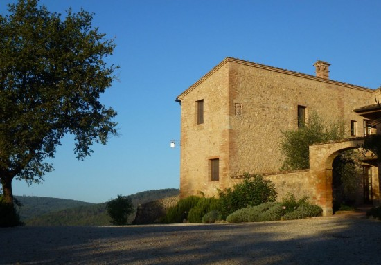 Your home in the Tuscan countryside.