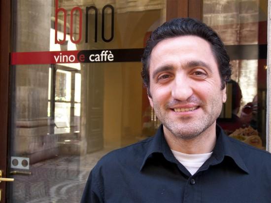 Roberto Bono, co-owner of Albergo Stella in Sulmona.