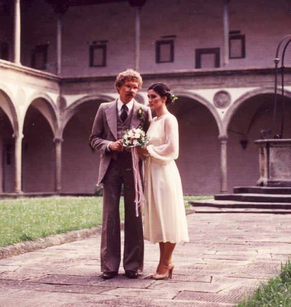 Sharon and Walter Sanders'Italian Wedding