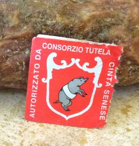 The consorzio tag guarantees authenticity and purity.