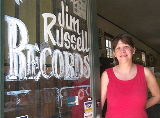 Denise Russell manages the world-famous Jim Russell Records in New Orleans.