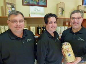 (L-R) Phil Noto, Vince Sciascia, and Mario Vicidomini are passionate about sharing genuine Italian foods.