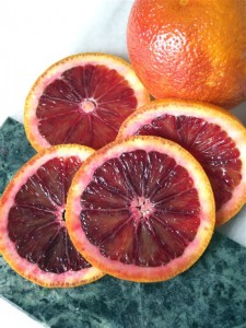Arancie di sangue, blood oranges, are the tomatoes of winter.
