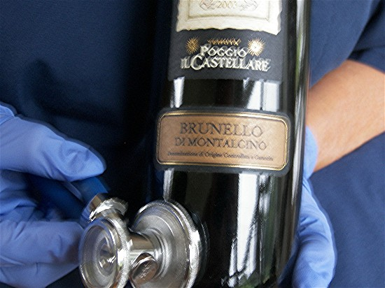 Poggio il Castellare Brunello di Montalcino 2003 may be just what the doctor orders.